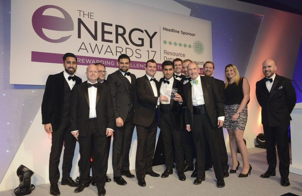 Pulse and NET team at the Energy Awards 2017