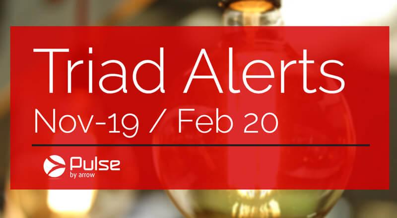 triad warning alerts november 2019