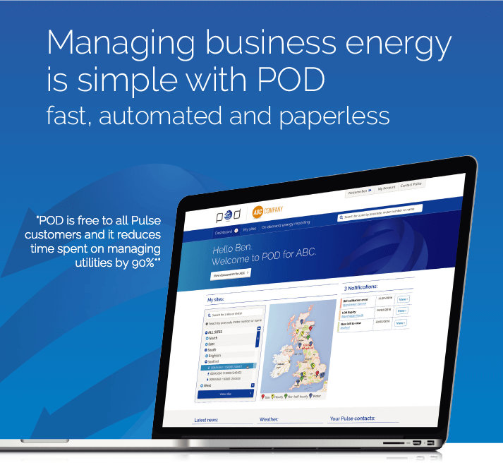 POD - Pulse energy software
